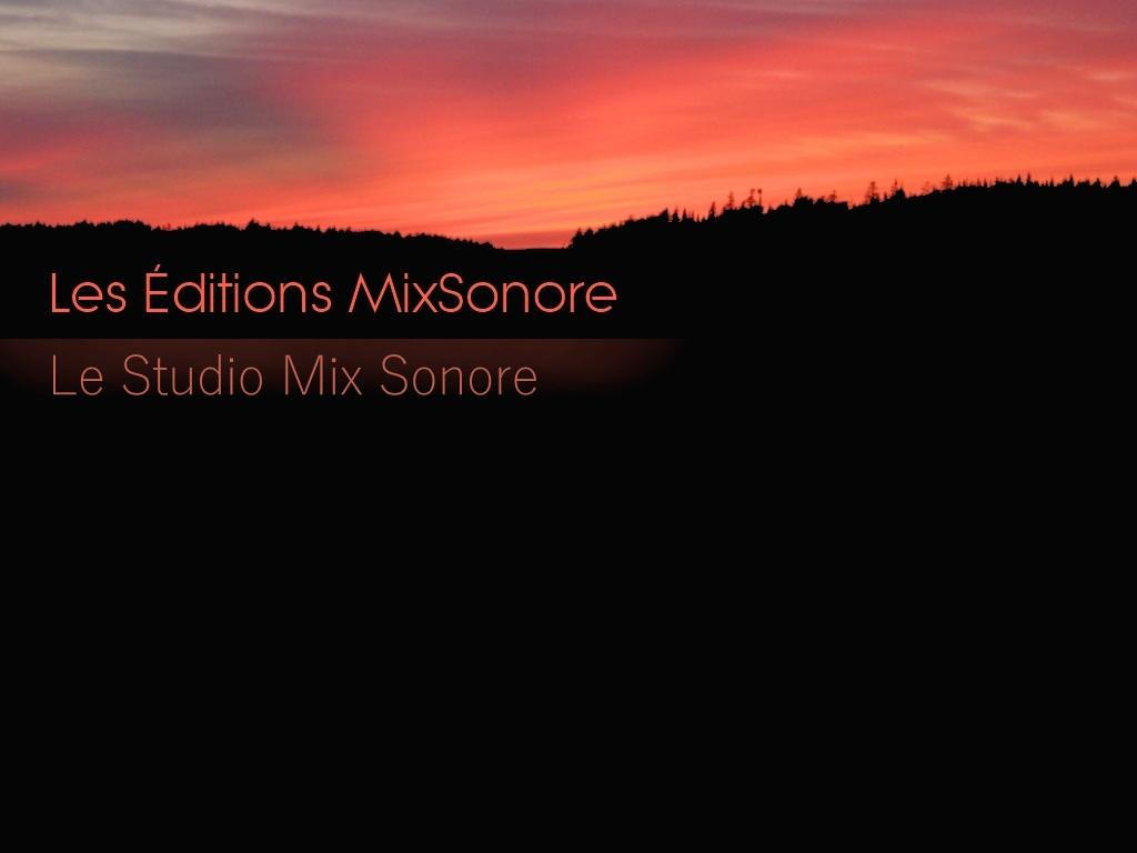 Editions MixSonore